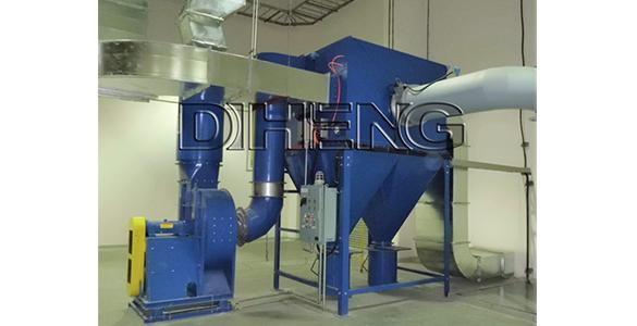 橡胶粉体称重密炼工艺   滤筒除尘系统