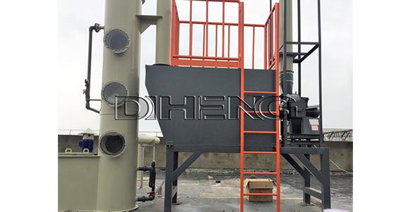 化工香精反应釜搅拌工艺   有机废气洗涤塔
