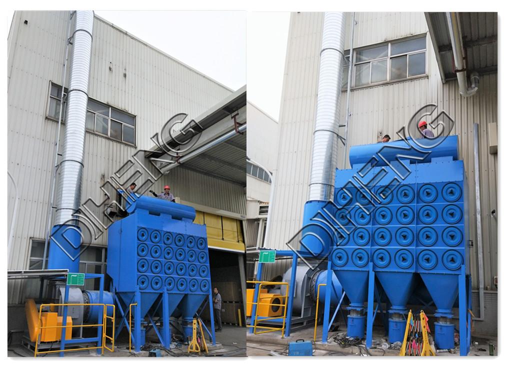 金属焊接烟尘收集    滤筒除尘过滤设备