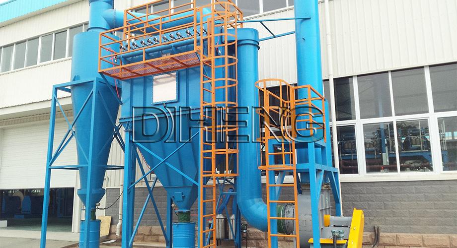 机械制造行业冷喷锌工艺  直立滤筒除尘系统