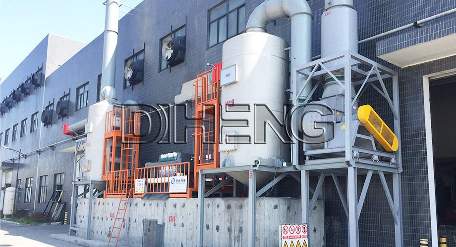机械制造铝合金打磨抛丸工艺  湿式防爆除尘系统